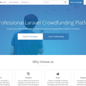 Donation Crowdfunding Software and Script | PHP Scripts Mall