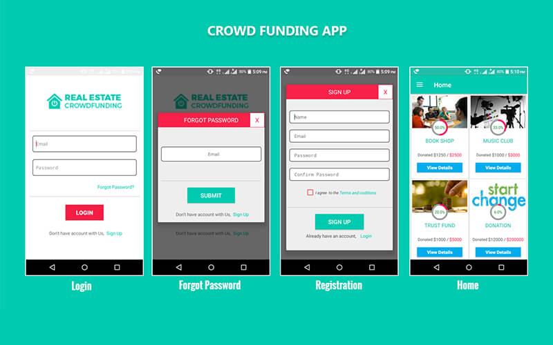 crowdfunding dating app